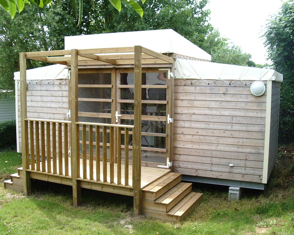 Hut 'Natura' – 2 slaapkamers – 2/4 personen
