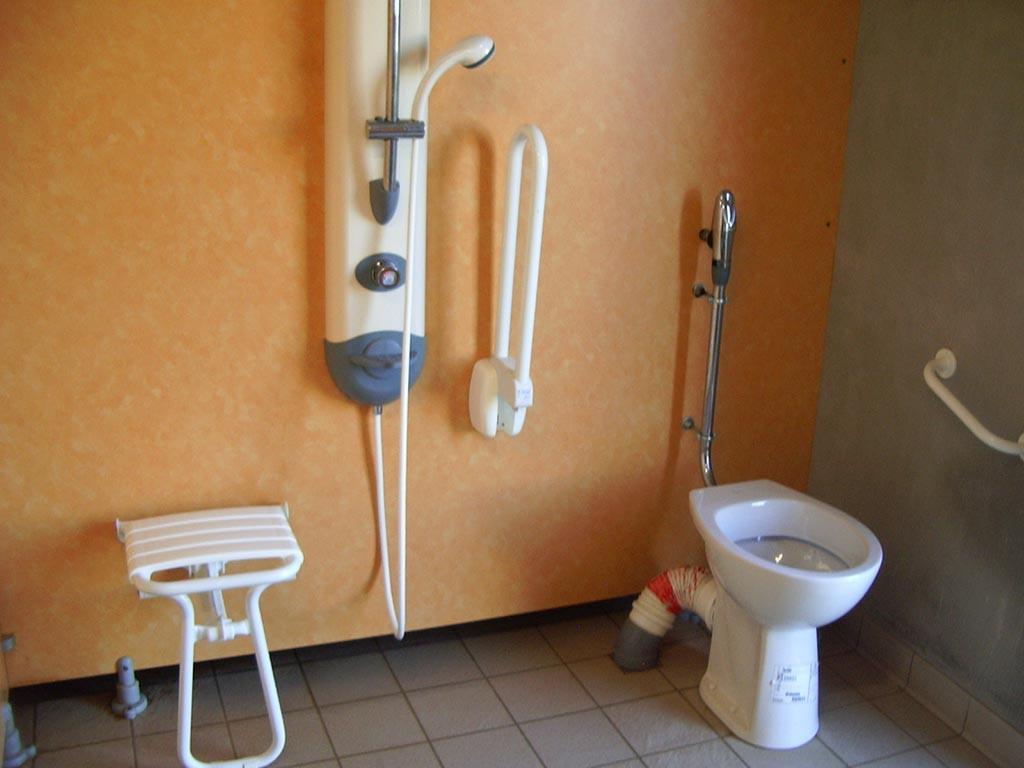 douche handicapés