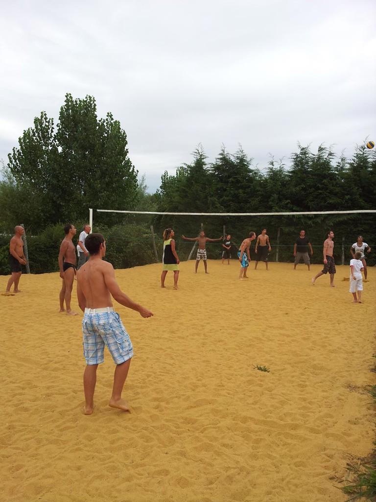 beach-volley camping en Vendée