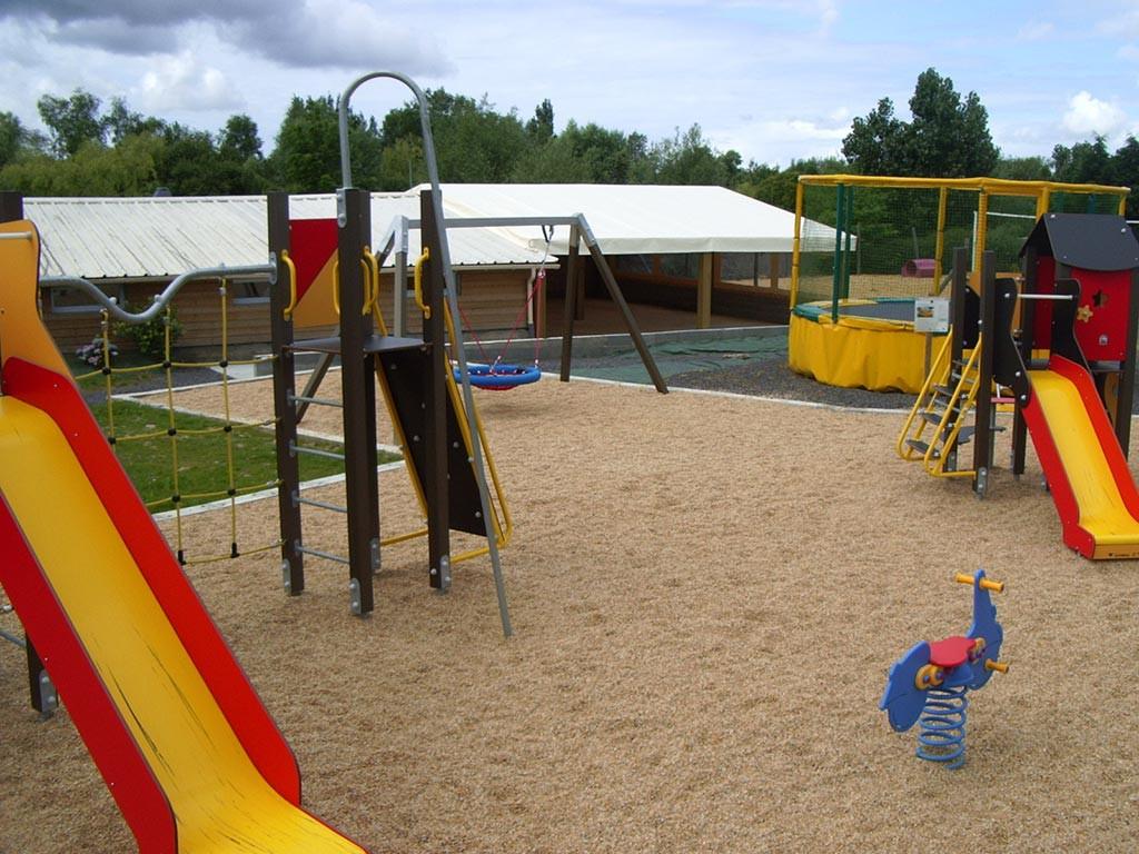 aire de jeux enfants camping Vendée