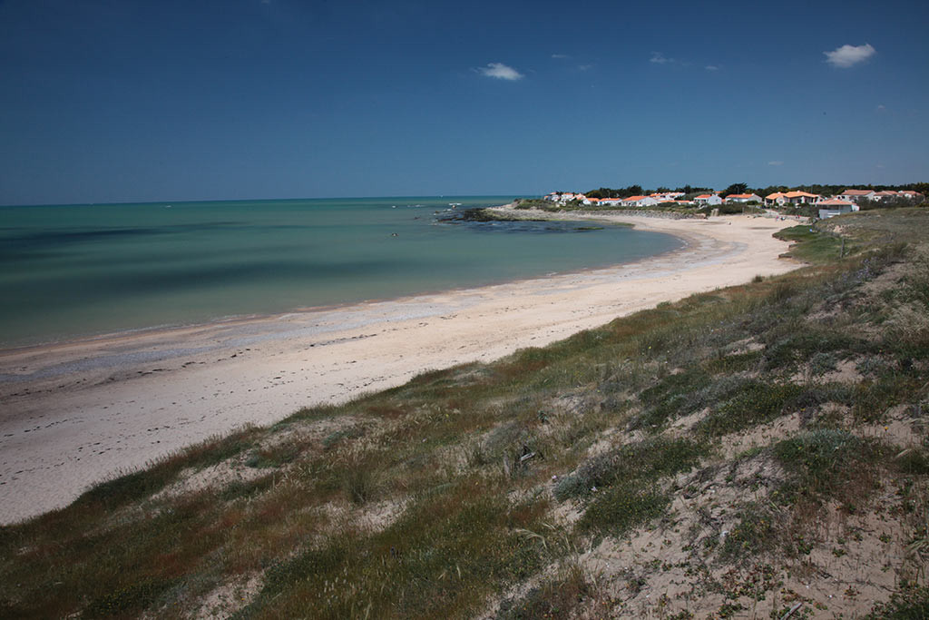 Brétignolles sur mer les plages