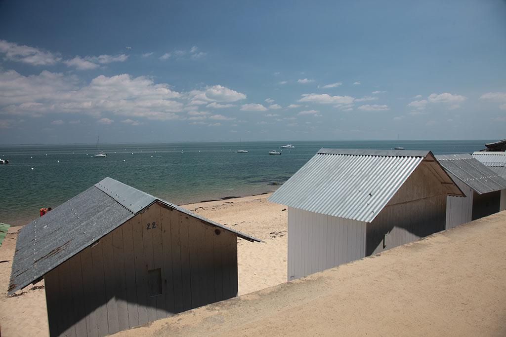 cabanes à Noirmoutier