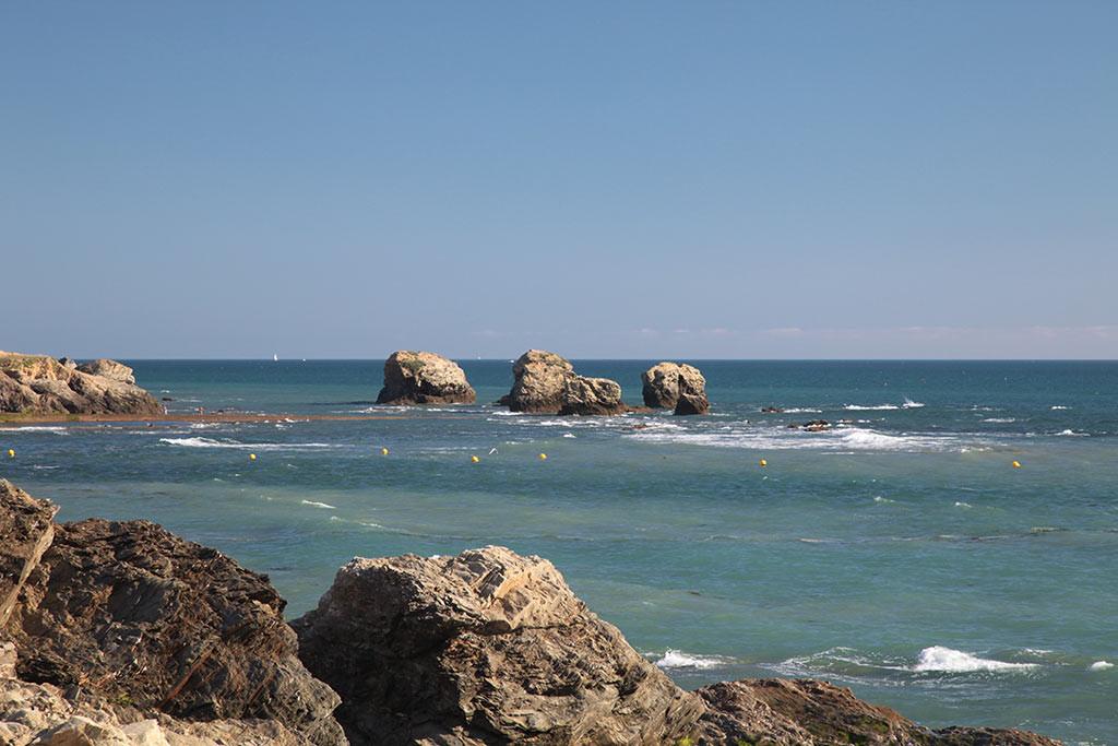 St Gilles Croix de Vie côte rocheuse