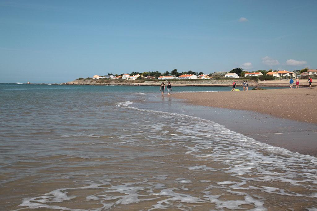 Brétignolles sur mer la plage